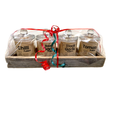 4 Gift Pack Fusions - 4 Glass Jars in Tray