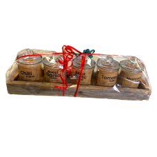 5 Gift Pack Fusions - 5 Glass Jars in Tray