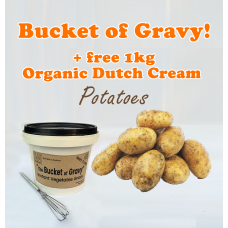 The Bucket of Gravy 500g + 1kg Dutch Cream Potatoes