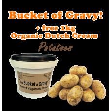 The Bucket of Gravy 500g + 1kg Dutch Cream Potatoes