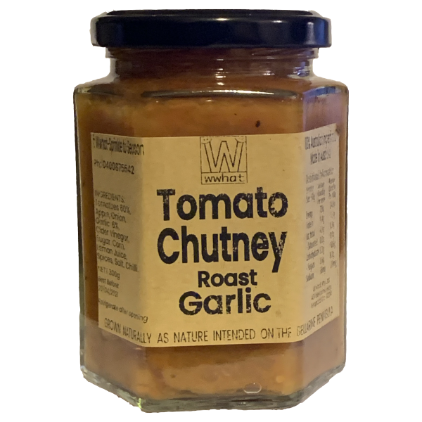 Tomato Chutney w' Roast Garlic 300g