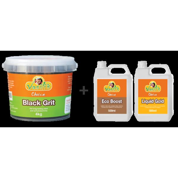 Black Grit 4kg + Bonus Liquid Pack Buy 1 Get 1 Free