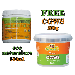 Eco Naturalure 500ml + FREE CGWS 200g