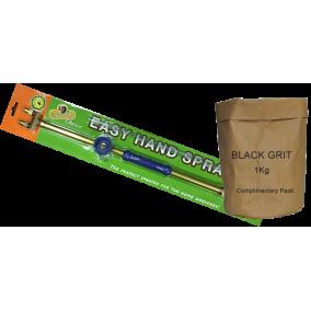 Easy Hand Sprayer +1kg Black Grit Refill