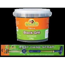 Black Grit 1.5kg + EASY HAND SPRAYER