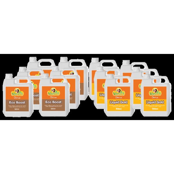 6 Pack Liquid 500ml