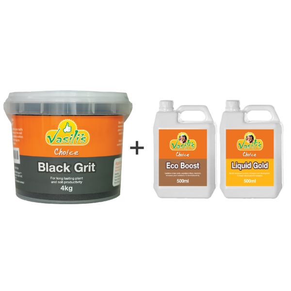Black Grit 4kg + Bonus Liquid Pack
