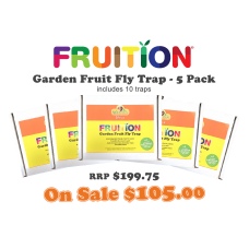 Fruition Garden Fruit Fly Trap 5 Pack Deal