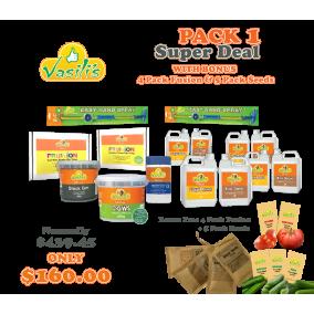 Pack 1+ BONUS Fusion & Seeds