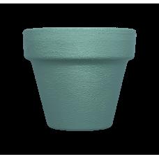 Hand Painted Terracotta Pot 5cm - Green
