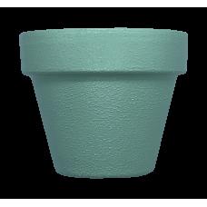 Hand Painted Terracotta Pot 7cm - Green