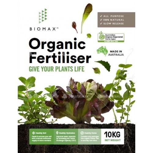 biomax organic fertiliser 10kg buy 1 get 1 free vasili s online