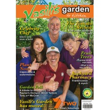 Vasili's Magazine Subscription  -  includes 4 issues + FREE COPY Edible Gardens & Smoothies Books & Easy Sprayer